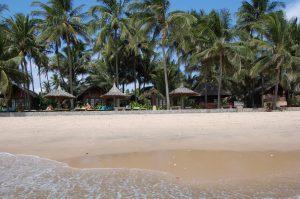 Пляж отеля Little Muine Cottege