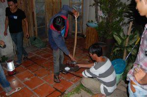 Ритуал с коброй в Муйне