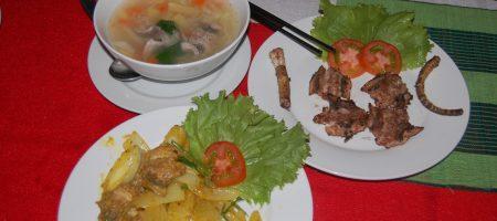 Блюда из мяса кобры