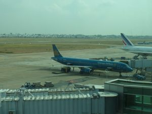 Самолет Vietnam Airlines, рейс Москва-Хошимин