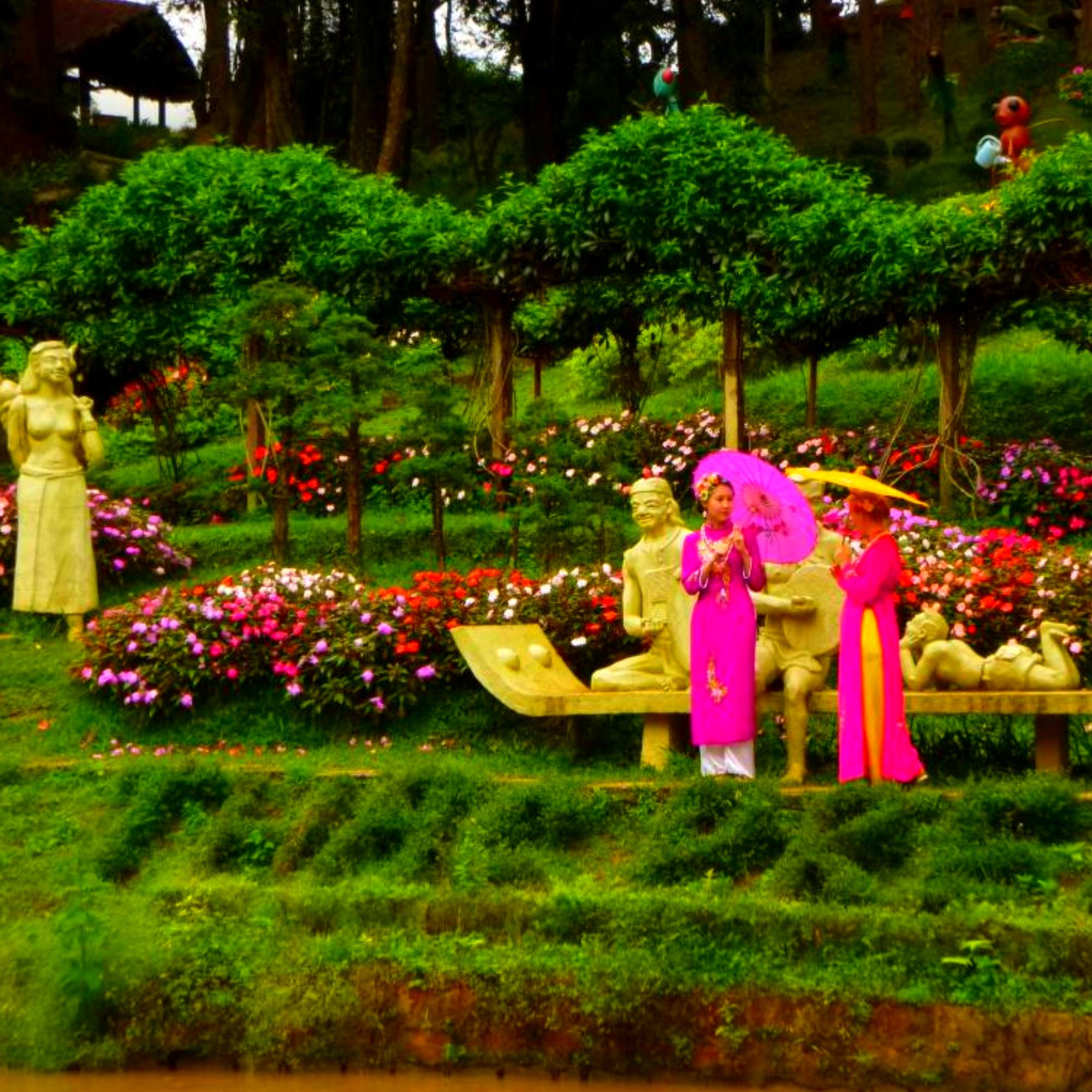 Экскурсия в Далат - город водопадов, любви и цветов. Город не похожий на другой Вьетнам