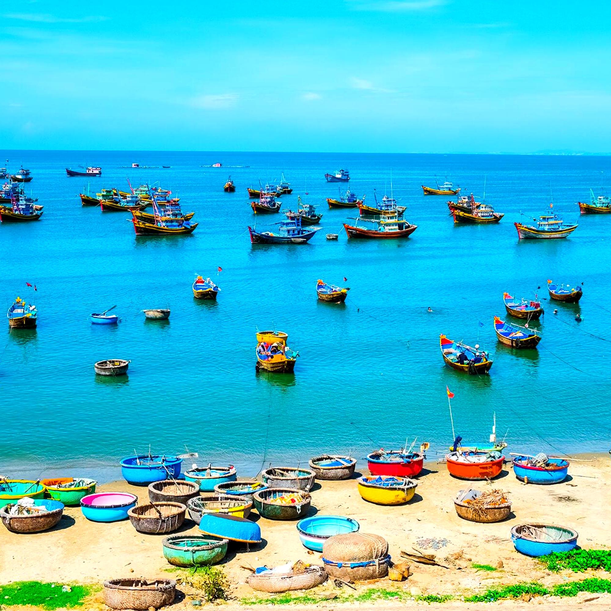 Рыбацкая деревня в Муйне. Джип тур от Вьетнам ФМ